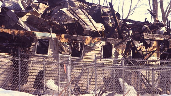 A fire at Add-En-On Kennels in Mendon Ponds Park destroyed the facilities, killing some dogs that were boarded there on March 8, 2015.
