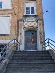 The former Roosevelt School on Eberts Lane and Wallace