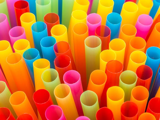 Plastic straws: Size matters, especially when it comes to recycling. Anything smaller than two inches in diameter typically falls through the cracks of the city's recycling machinery and cannot be recycled.