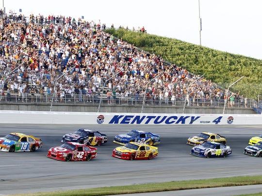 Kentucky Speedway in Sparta, Kentucky.