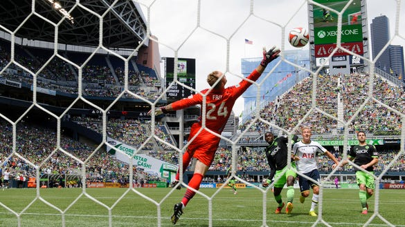 USP MLS: TOTTENHAM HOTSPUR AT SEATTLE SOUNDERS S SOC USA WA