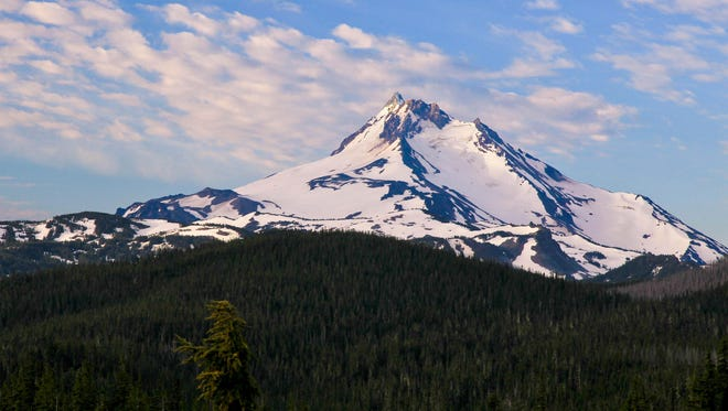 Mount Jefferson is a focal point of interest for those traveling to Oregon for the solar eclipse.