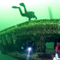 There are more than 750 shipwrecks to explore in Lake Michigan and Lake Superior.
