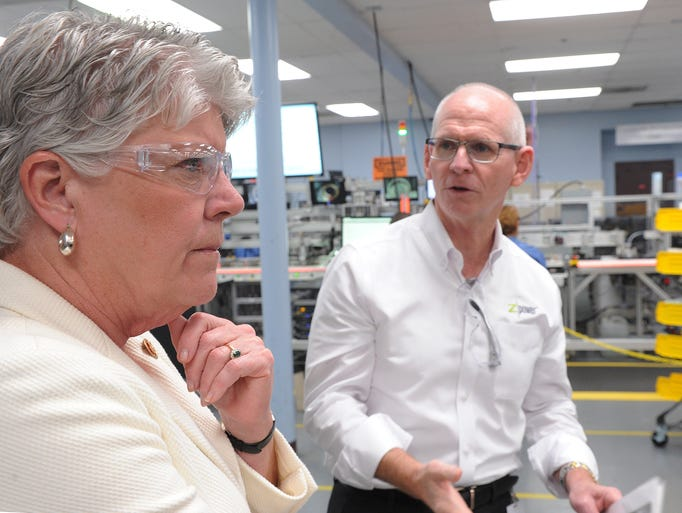 Ross Dueber, president and CEO of Camarillo manufacturing