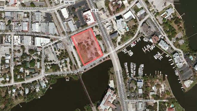 Proposed stadium site.