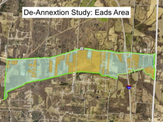 Eads annexation area