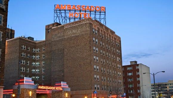 The  Ambassador Hotel, 2308 W. Wisconsin Ave., has
