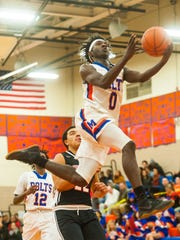 Millville guard Rynell Lawrence is leading the Thunderbolts this season as he closes in on 1,000 career points.