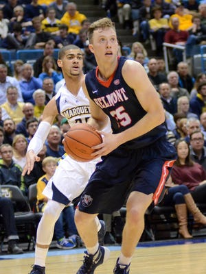 Belmont senior Evan Bradds was named a candidate for the Julius Erving Small Forward Award on Wednesday.
