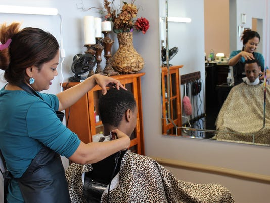 dhipa-cutting-hair