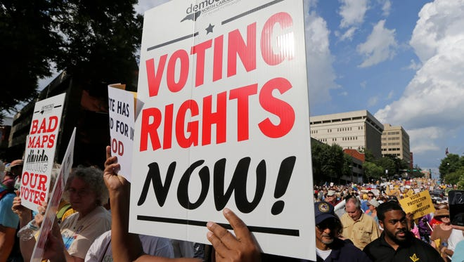 If either party in power can't be trusted with our right to vote, neither party should control that right.