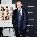 """Actor Stellan Skarsgard attends the premiere of """"Nymphomaniac: Volume I"""" at The Museum of Modern Art in New York."""