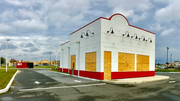 The new, recently opened, Krystal Burger in Breaux