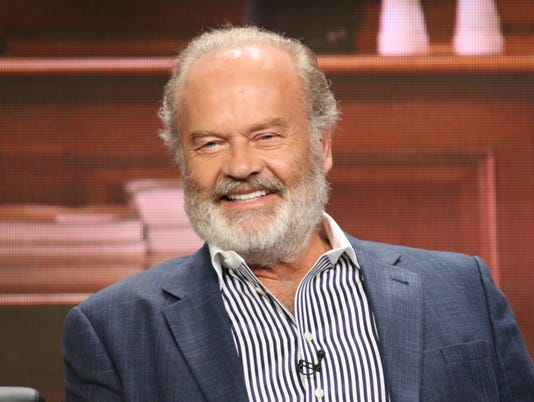 Kelsey Grammer, whose father and sister were murdered, stumps for crime victims' rights