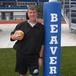 Harper Creek's head football coach Ed Greenman