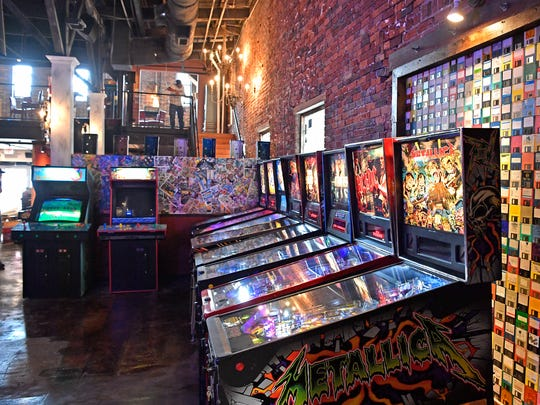 Thirty-two vintage arcade games are at Headquarters