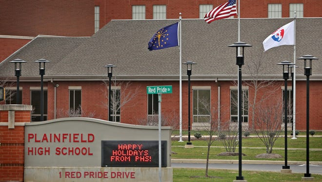 Winter break started at Plainfield High School on Dec. 17, 2015, instead of Dec. 18 because of threats of violence on social media.