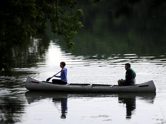 Radnor Lake has free canoe floats that you can reserve