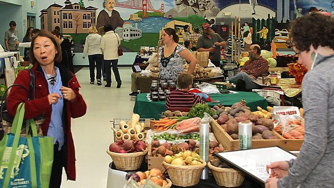 The Winter/Indoor Oshkosh Saturday Farmers Market begins Nov. 7 at Merrill Middle School.