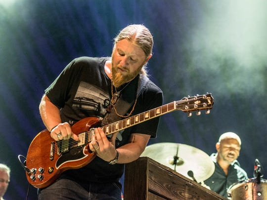 Derek Trucks of Tedeschi Trucks Band.