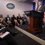 Sean Spicer: 'We've tried to do what we can'