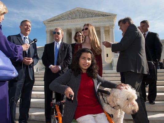 Supreme Court service dog