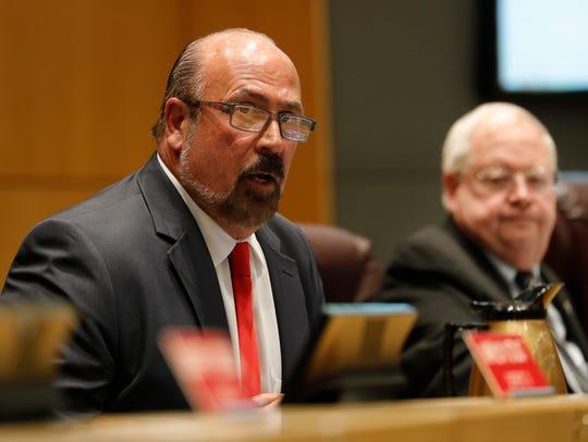 New Cape Coral Mayor Joe Coviello was sworn in Monday