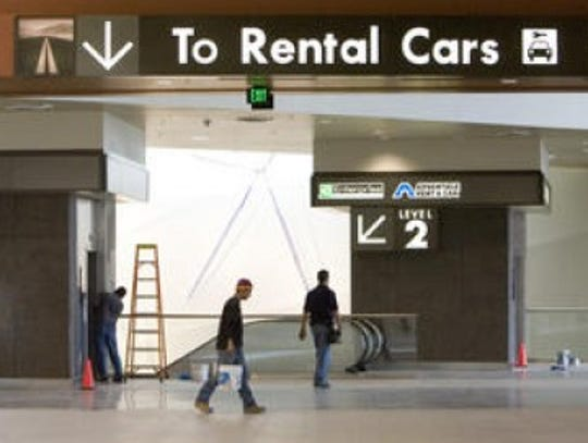 2006: One-stop rental car service- Sky Harbor's Rental