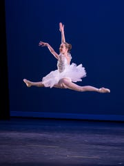 Tiana Winer dances during last year's production of 'The Nutcracker.'