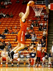 The UTEP returnees came from a first half deficit to claim an 80-70 bragging rights victory over the Miner newcomers late Saturday afternoon in front of a little more than a thousand Miner faithful in the Don Haskins Center.