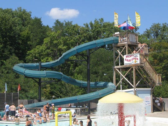 The Mighty Anaconda is one of the featured slides at Zoom Flume Water Park in East Durham.