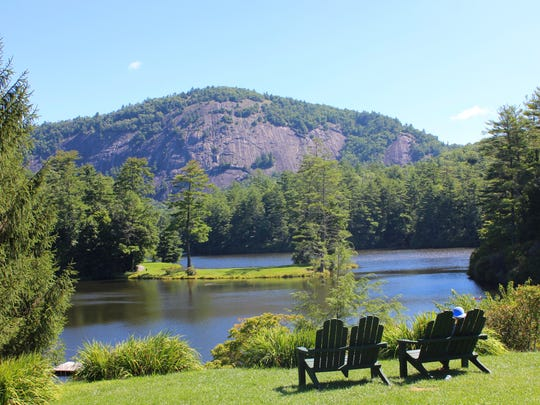 High Hampton Inn and Country Club in Cashiers, N.C., offers plenty, or little, to do, depending on guests' preferences.
