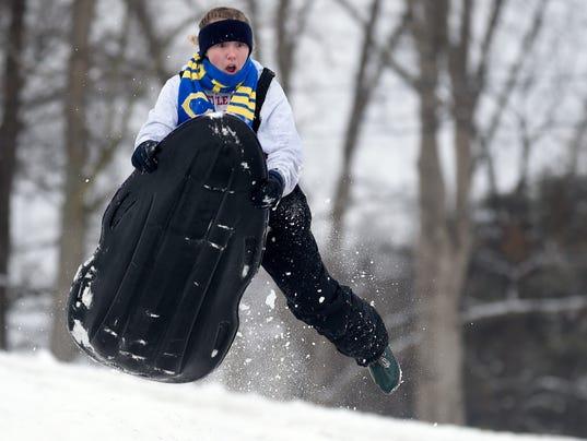 AP BIG SNOWSTORM INDIANA A USA IN