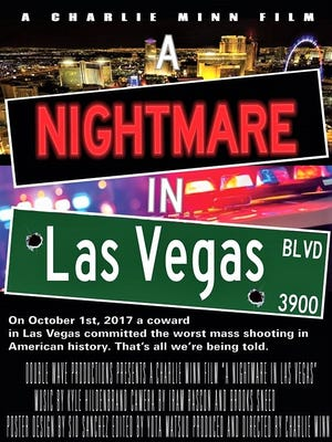 """A Nightmare in Las Vegas"" poster"