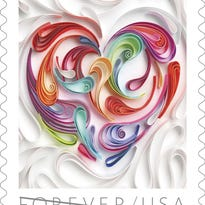 Send your Valentine Card with something a little extra, the U.S. Postal Service's 2016 Love Stamp