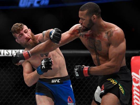 MMA: UFC 213-Santos vs Meerschaert