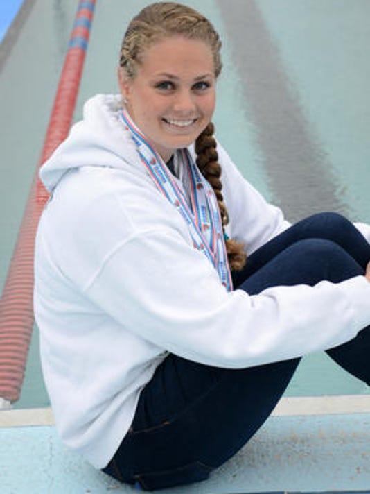 All Space Coast Girls Swim Team Keymont Leads Way
