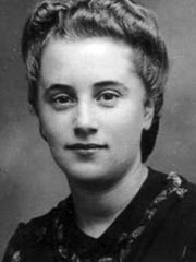 A portrait of Marthe Cohn, a Holocaust survivor who