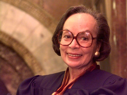 U.S. District Judge Anna Diggs Taylor was the first