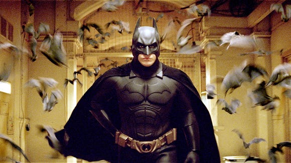 "Christian Bale made his mark as Christopher Nolan's Dark Knight in ""Batman Begins."""