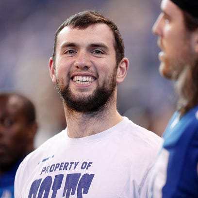 Why Colts QB Andrew Luck is relieved about the condition of his shoulder
