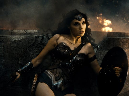 Wonder Woman (Gal Gadot) makes her big-screen return