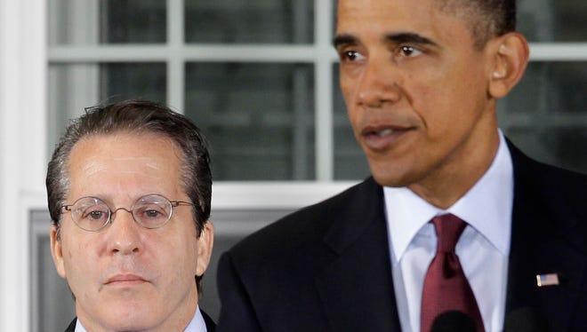 President Obama and Gene Sperling