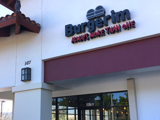 "Burgerim is now open at what used to be Starbucks in Newbury Park. The chain's ""always more than one"" slogan refers to its serving of mini-burgers in groups of two or more."