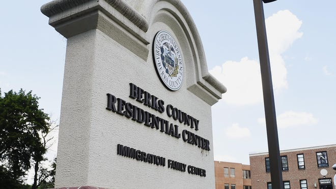 This June 22, 2018, photo shows the Berks County Residential Center in Bern Township, Pa. Several members of an extended British family who made an unauthorized crossing into the United States from Canada have been deported after nearly two weeks in federal custody at a Pennsylvania detention center Wednesday, Oct. 16, 2019. (Bill Uhrich/Reading Eagle via AP)