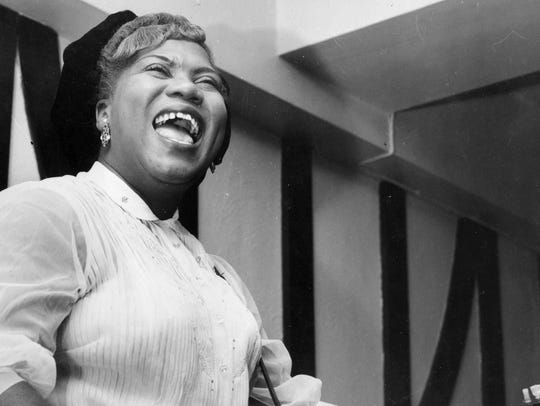 Gospel singer and guitarist Sister Rosetta Tharpe in