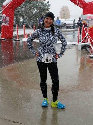 Sandra Scarella at Run Macomb in November 2015.