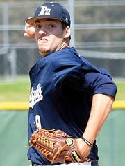 Pope John Paul II High junior Mason Hickman tossed a one-hit shutout in Thursday afternoon's 5-0 win over visiting Montgomery Bell Academy, striking out 10 batters in the process.