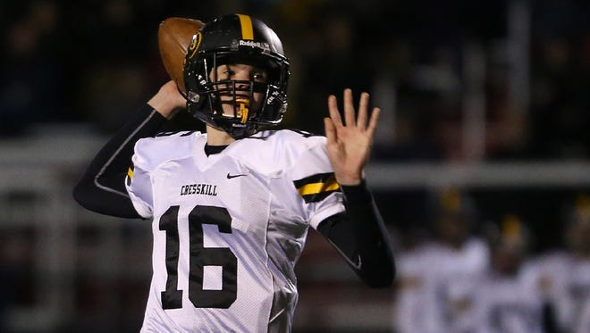 Cresskill quarterback Jack Maltby has engineered a formidable offense. The Cougars will try to become the first team to defeat Hasbrouck Heights in the North 1, Group 1 semifinals.