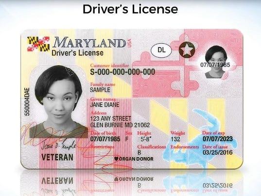 Mva Unveils New Maryland Licenses Ids